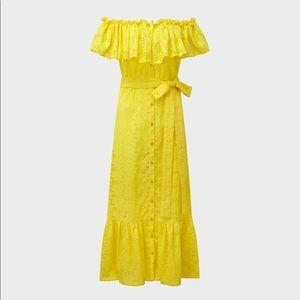 Lisa Marie Fernandez Mira Yellow Dress Size 3
